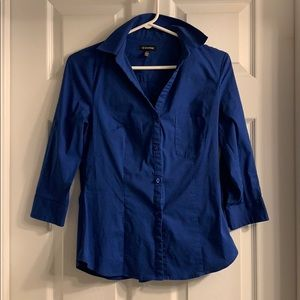 Le Chateau Blue Dress Shirt